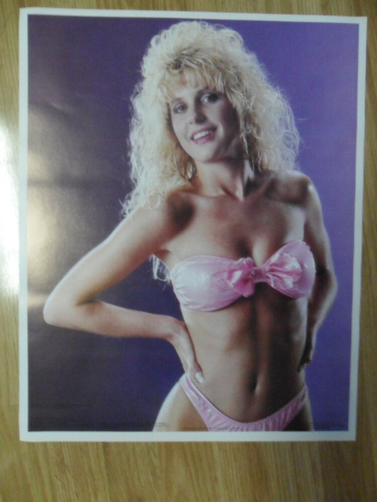 Sexy Girl Dorm Poster Big Hair Vintage 80S Jennifer -3319
