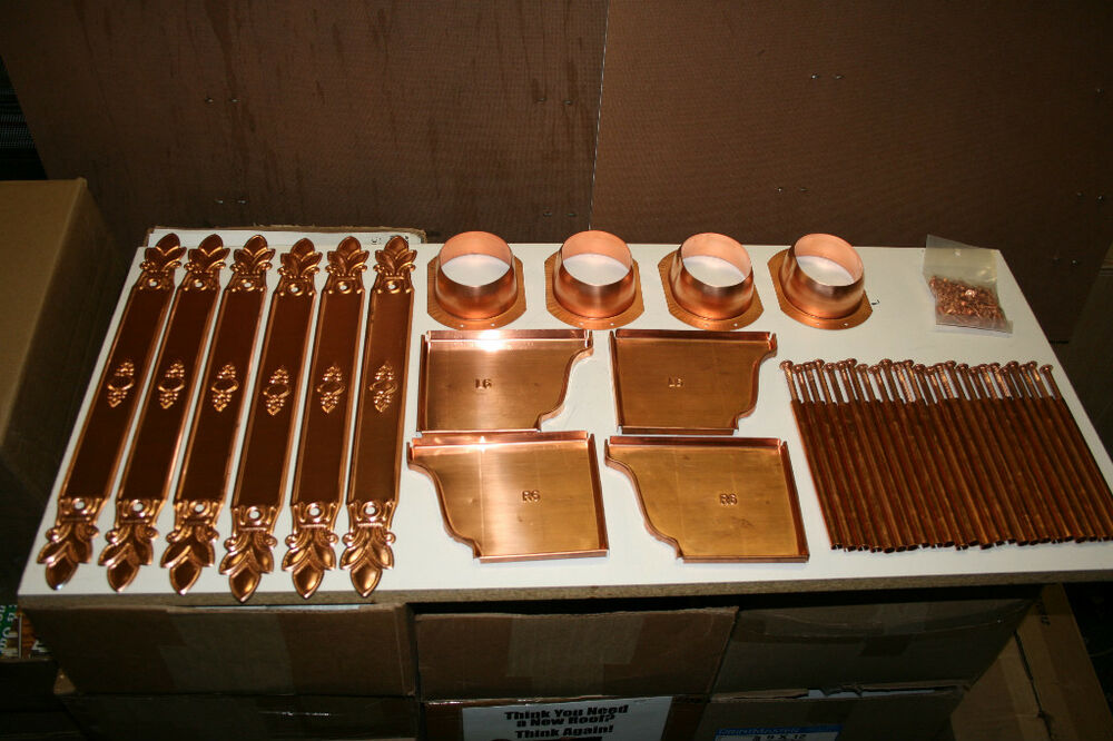 Copper Gutter Repair Kit Ebay