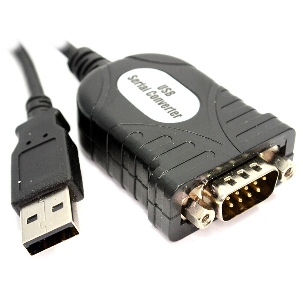 9 Pin Cable: Newlink HQ USB To Serial 9 Pin (RS-232) Adapter Cable