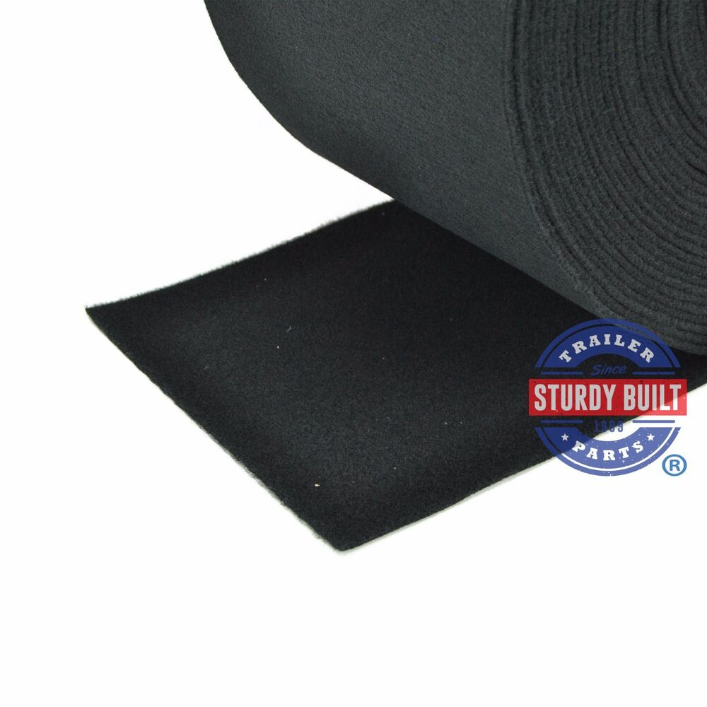 Marine Grade Polymer Board : Boat trailer running board carpet quot wide black marine