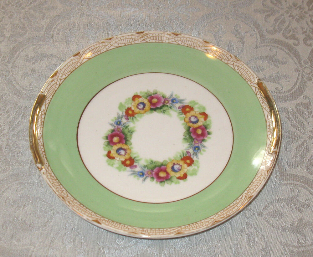Vintage noritake decorative plate with flowers japan free for Decoration plates