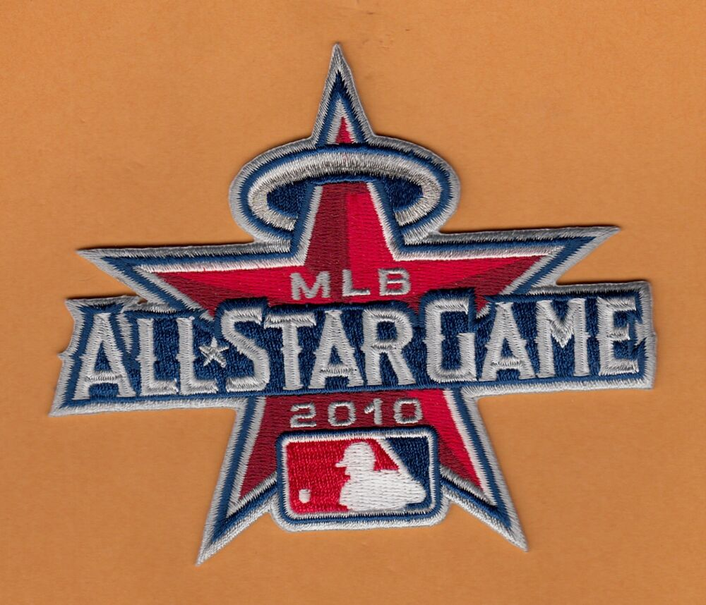 Stargazing Wishes In Anaheim Ca: 2010 MLB ALL STAR GAME STITCHED 4 3/4in JERSEY PATCH L A