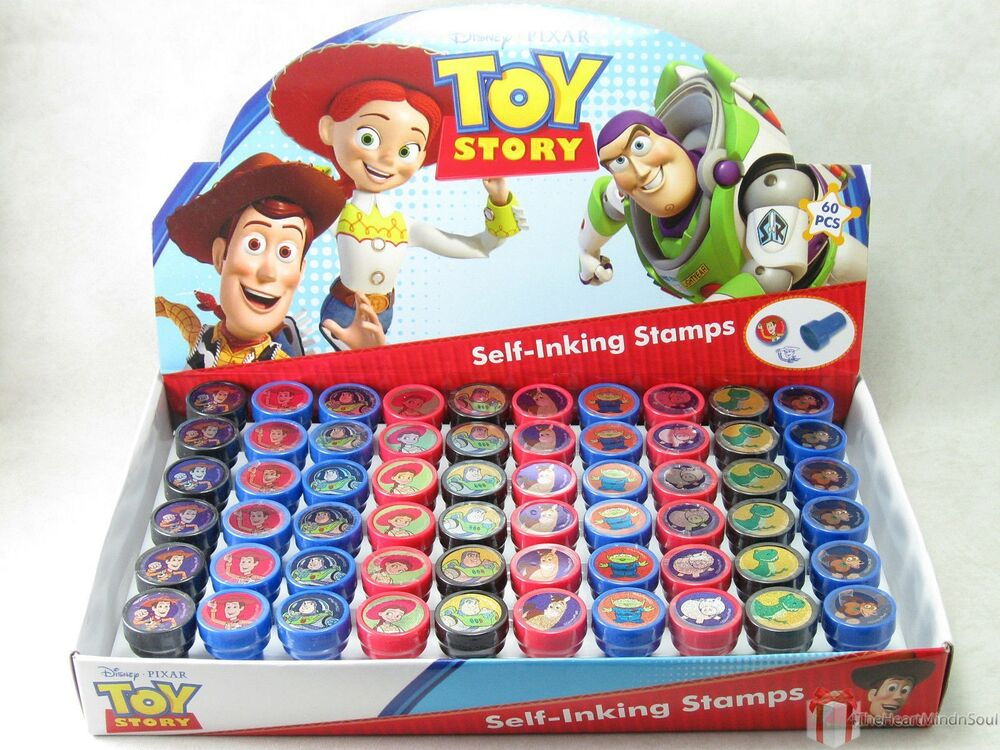 Party Favor Toys : Birthday party favors disney toy story self ink stamps