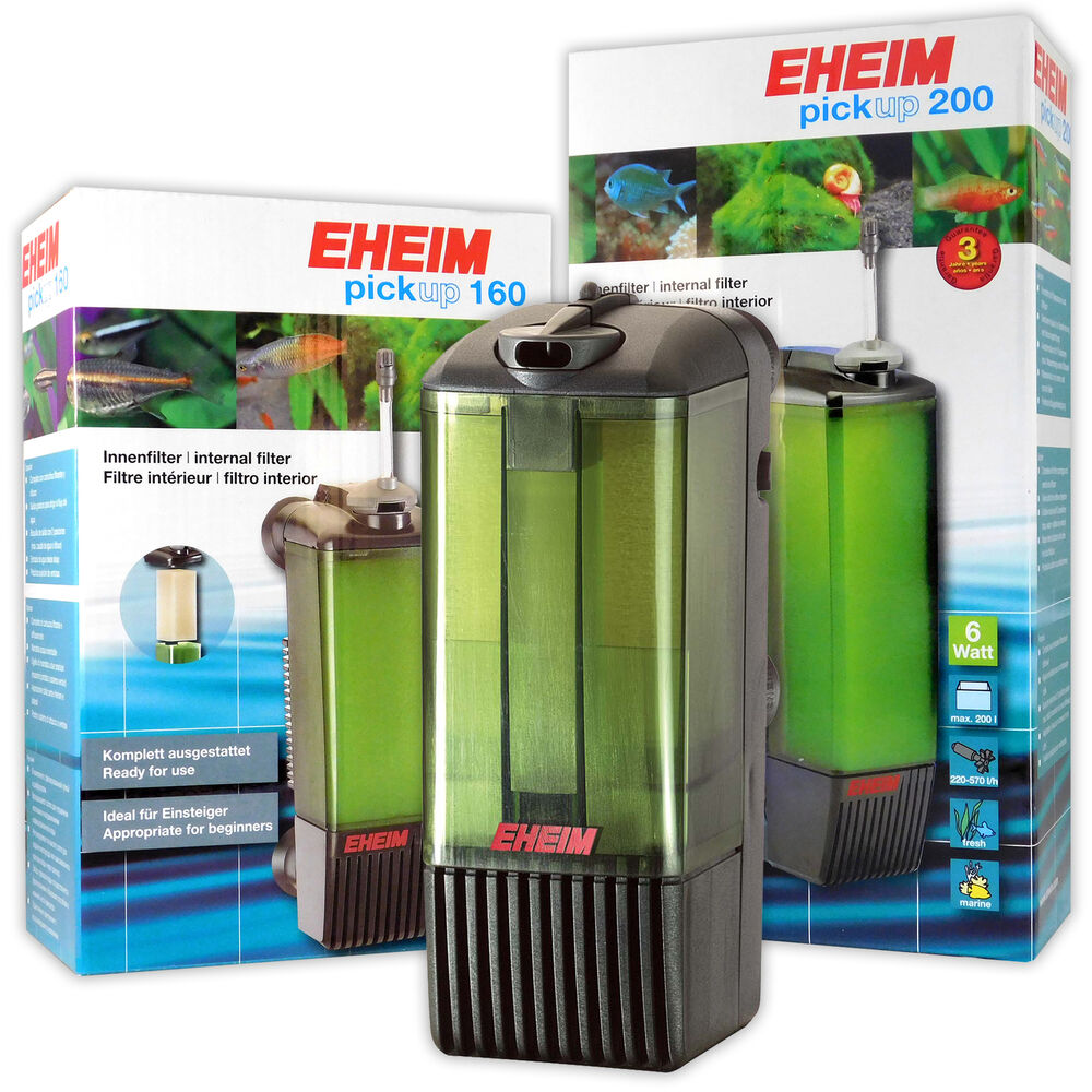 Eheim pick up 2006 2008 2010 2012 internal fish tank for Well water for fish tank