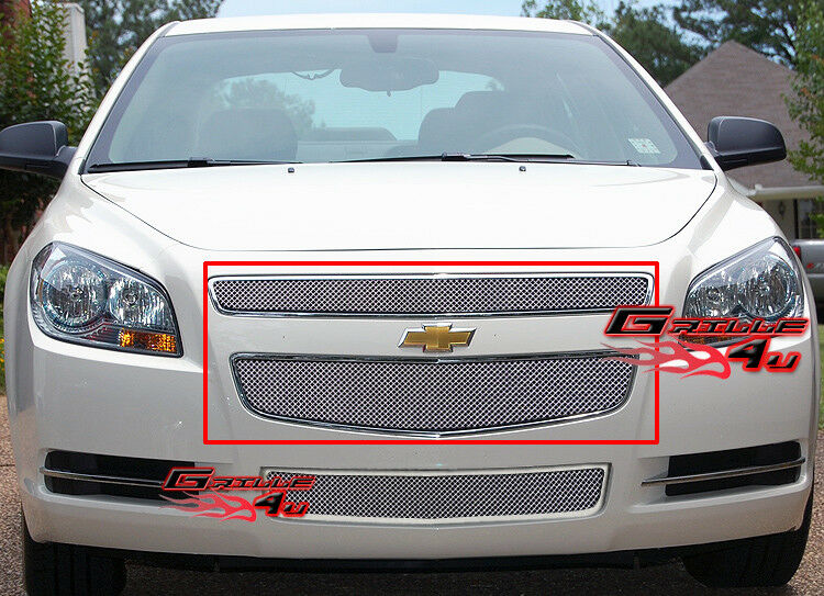 for 2008 2012 chevy malibu stainless steel mesh grille. Black Bedroom Furniture Sets. Home Design Ideas