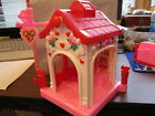Fisher Price Little People Sweet Valentine Holiday Bake shop store house new lot