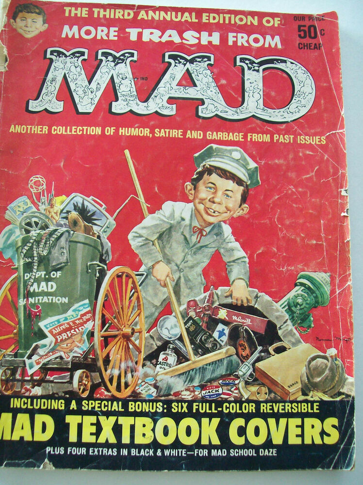 vintage mad magazine the third annual edition of more