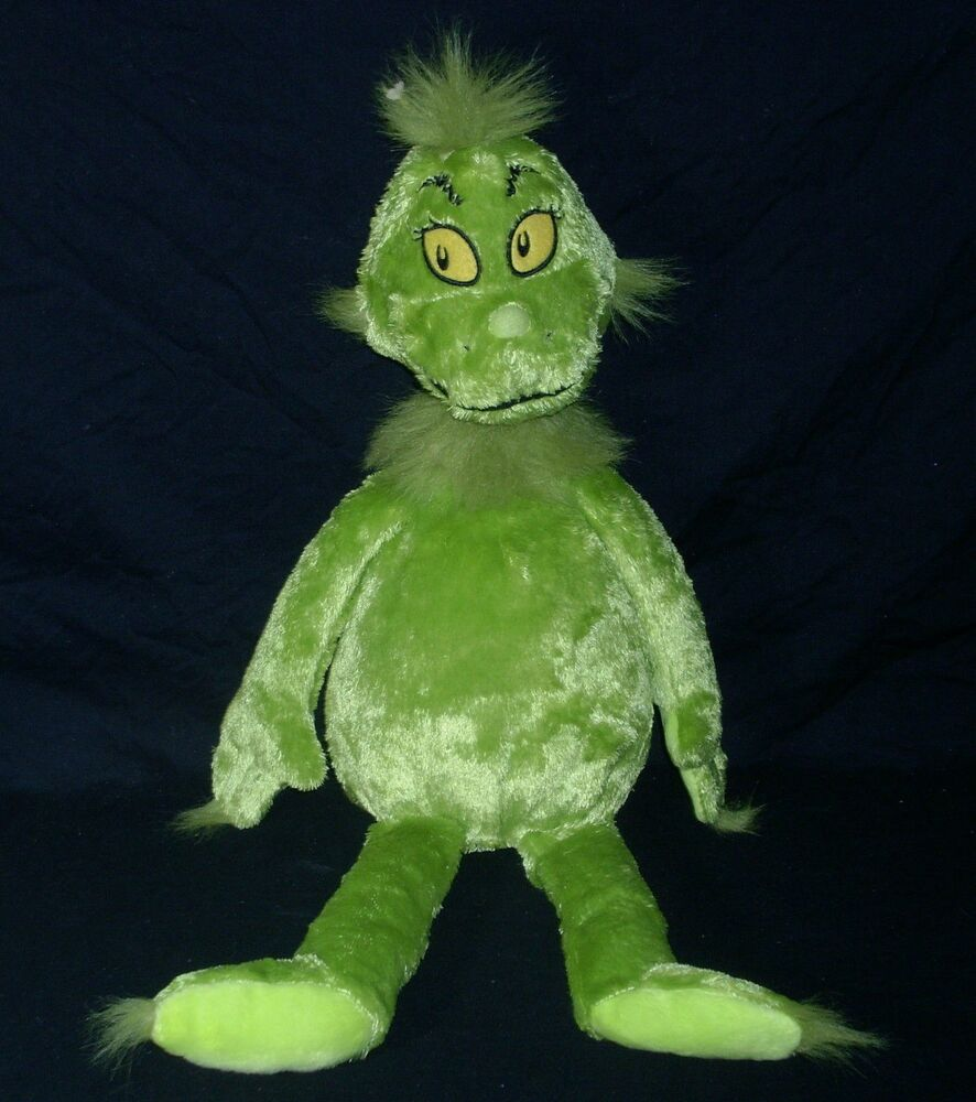 """20"""" THE GRINCH WHO STOLE CHRISTMAS KOHL'S CARES FOR KIDS STUFFED ..."""