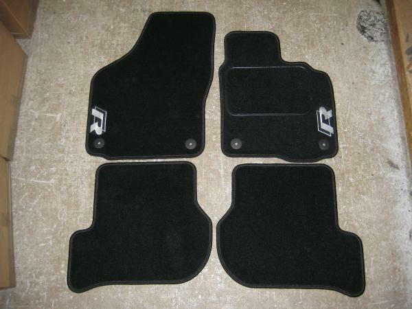 Car Mats In Black To Fit Vw Golf Mk6 Scirocco 2009 On