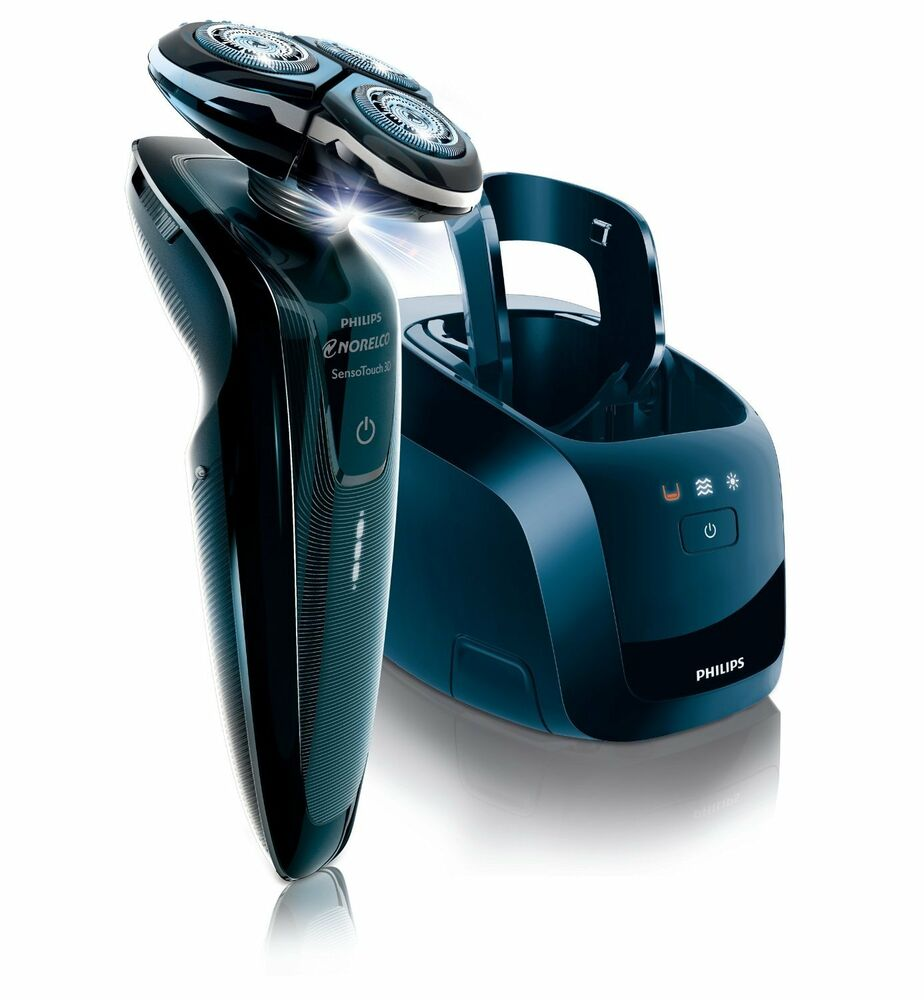 Philips Norelco 1250xcc/42 SensoTouch 3d Electric Shaver w Jet Clean System NEW | eBay