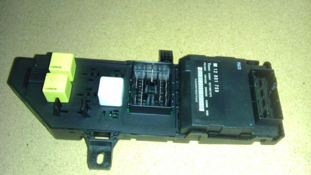 saab 9 3 interior fuse box relay center 2003 ebay. Black Bedroom Furniture Sets. Home Design Ideas