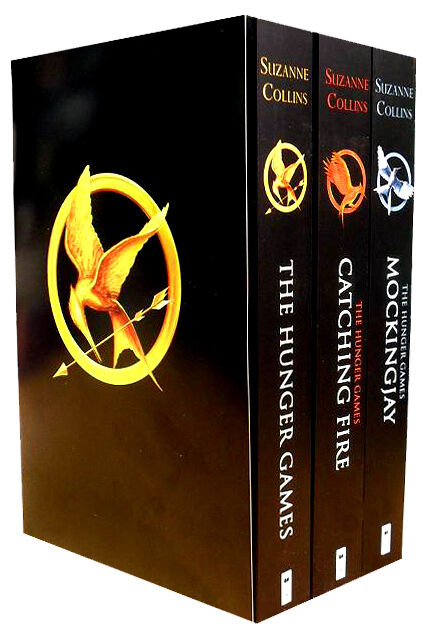 Hunger Games Trilogy Collection Classic 3 Books Set ...