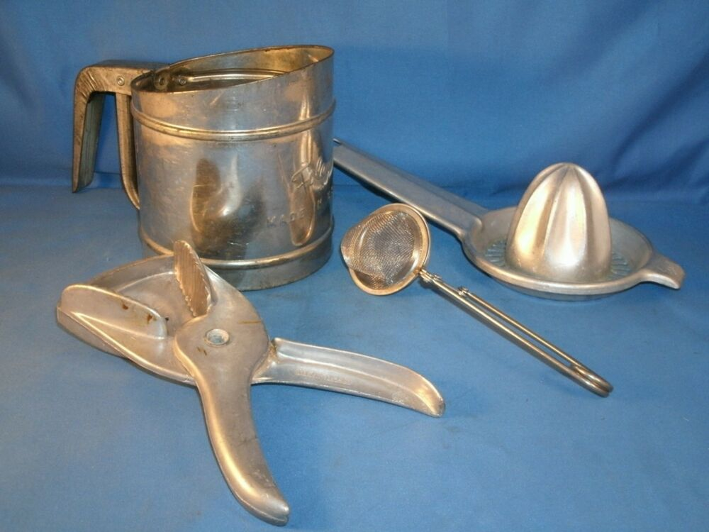 vtg lot kitchen utensils, foley aluminum, irvin ware | ebay
