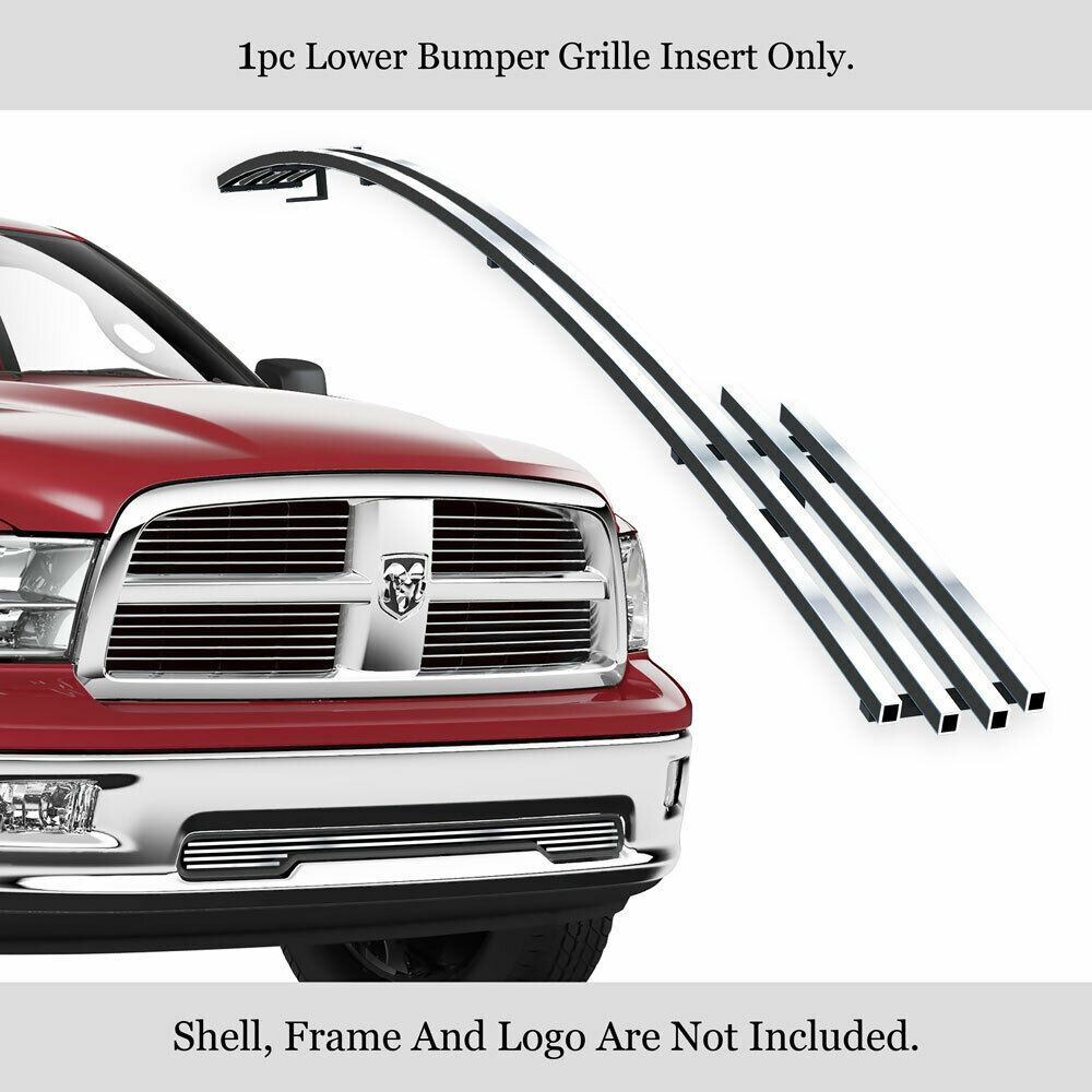 2009 2012 dodge ram 1500 pickup bumper billet grille. Black Bedroom Furniture Sets. Home Design Ideas