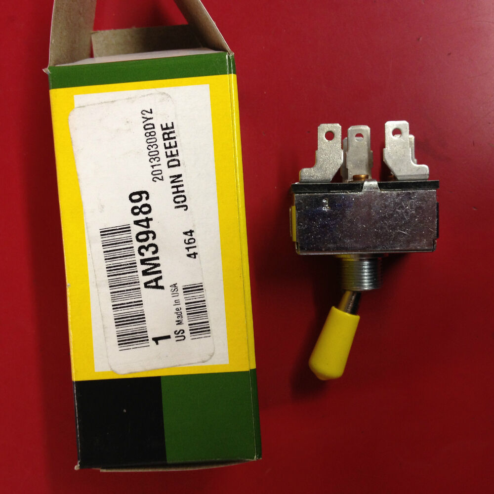 John Deere Genuine Oem Pto Switch Am39489 240 245 260 265