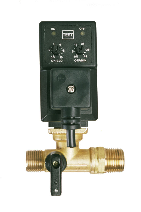 New Electronic Automatic Tank Drain W Adjustable Timer