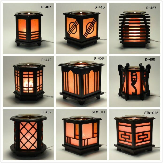 *Japanese* Wooden Electric Scent Oil Diffuser Warmer ...