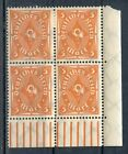 STAMP / TIMBRE ALLEMAGNE GERMANY DEUTFCHES REICH BLOC DE 4 N° 208 *