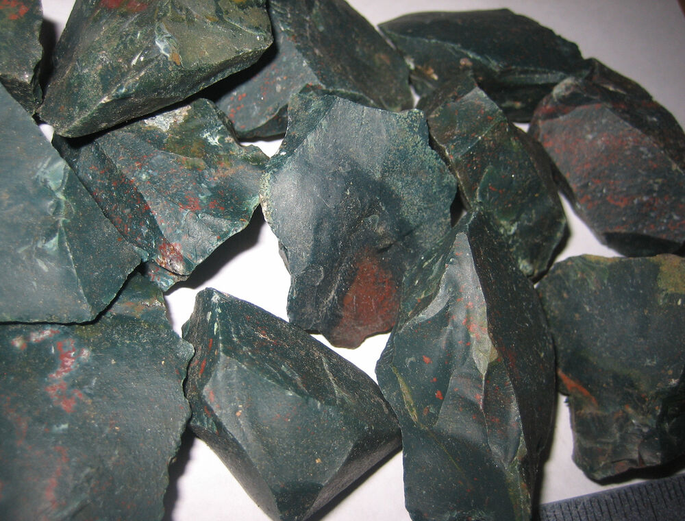 1lb A Natural Rough 1 2 Quot Bloodstone Raw Crystal Stone