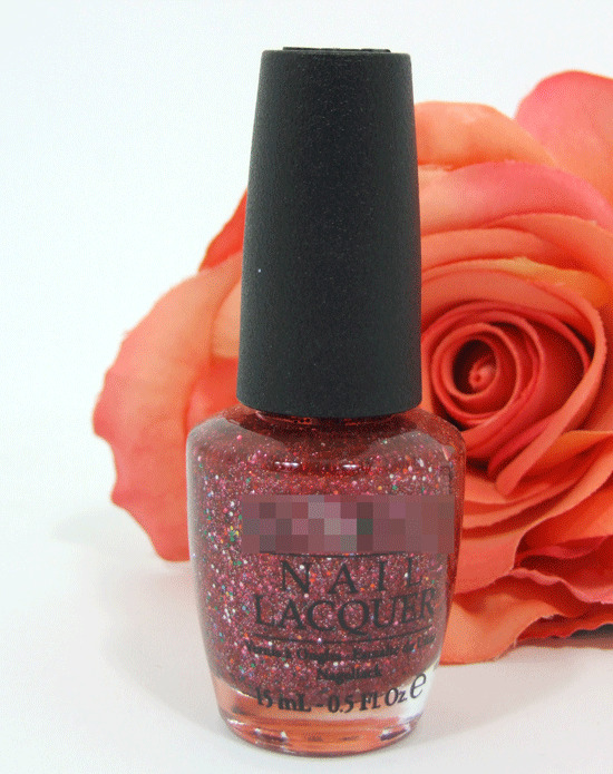 Opi Nail Polish Lacquer Excuse Moi 5 Oz Sparkle Red Pink Silver Glitter Muppet Ebay