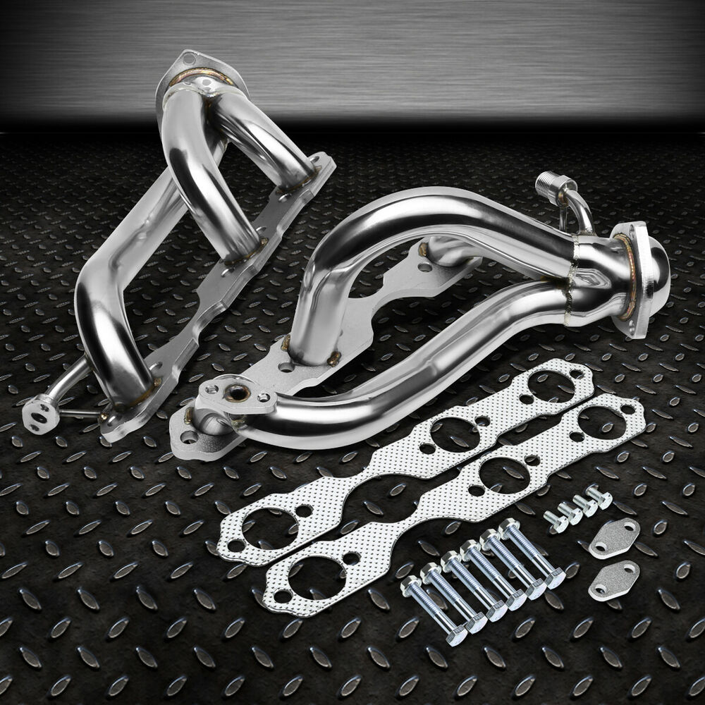 STAINLESS STEEL HEADER EXHAUST MANIFOLD 96-01 CHEVY S10