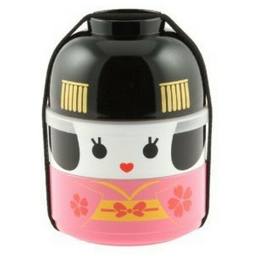japanese hakoya geisha doll lunch bento box 50642 s 3312 ebay. Black Bedroom Furniture Sets. Home Design Ideas