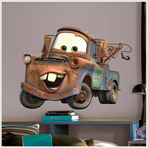 Mater Disney Cars Wall Stickers Mural Decal Room Decor 29