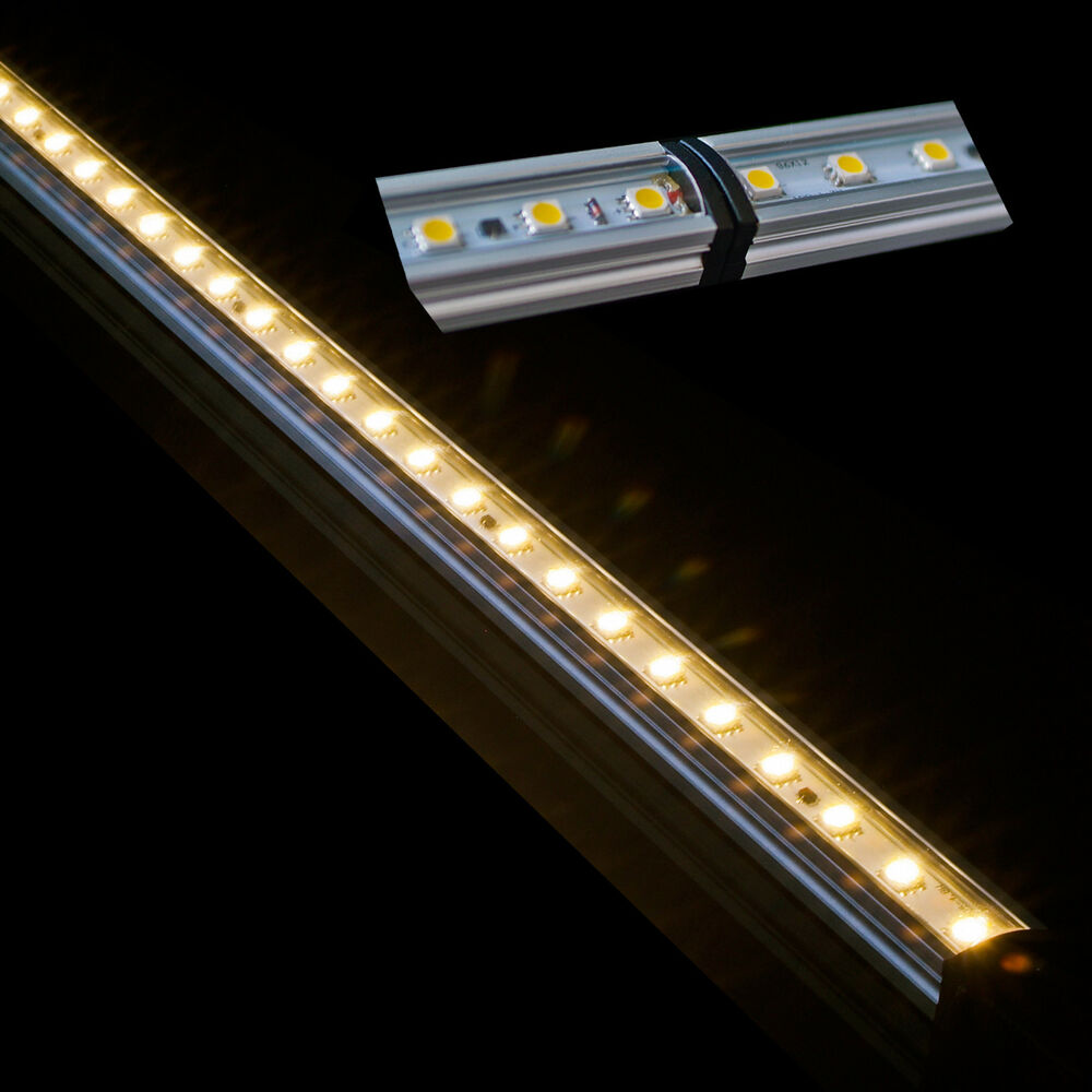 16 EZ Connect Cabinet LED Light Strip Bars Warm White WW