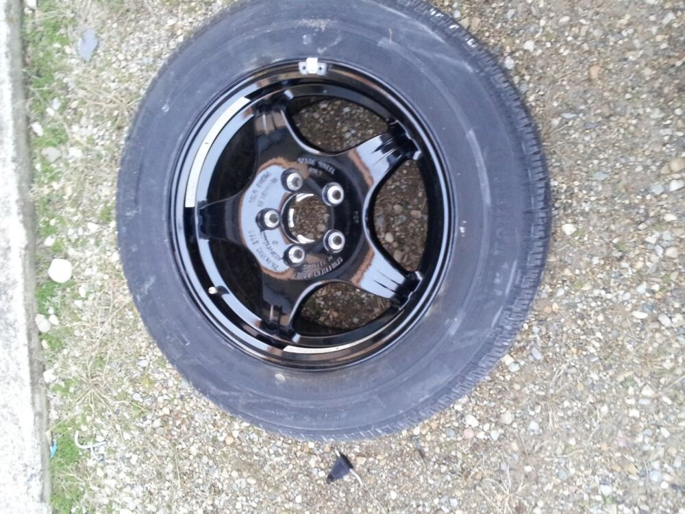 00 06 mercedes benz spare wheel tire only ebay for Mercedes benz tyres