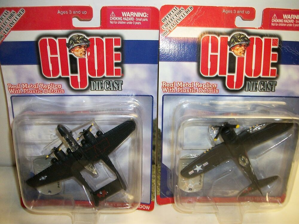 gi joe die cast f4u 1d corsair p 61 black widow toys ebay. Black Bedroom Furniture Sets. Home Design Ideas