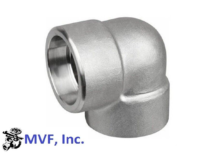 Degree elbow quot socket weld l stainless steel
