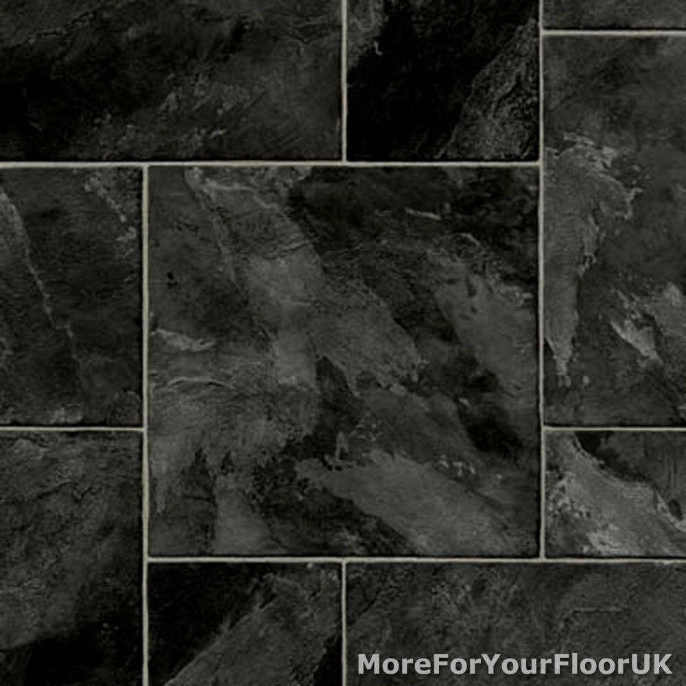 Grey Slate Kitchen Floor Tile