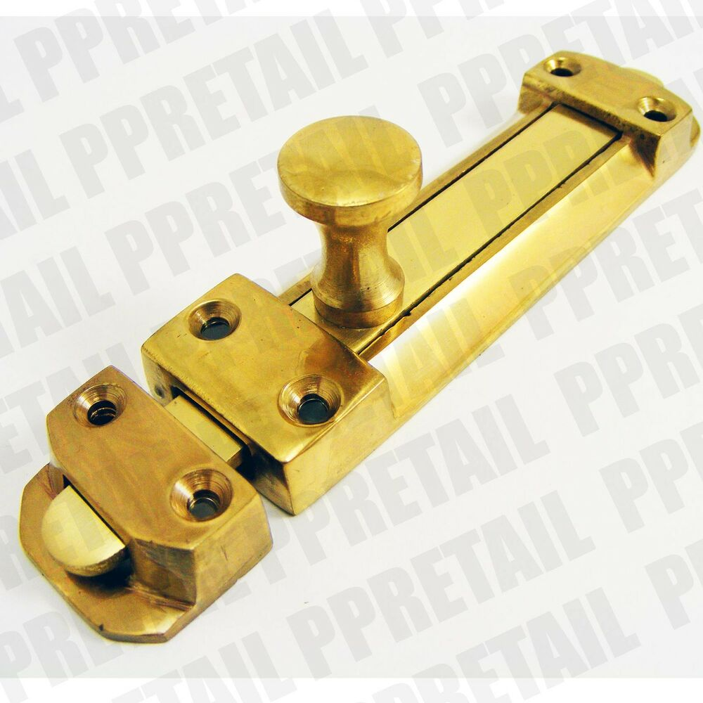 Quality Solid Brass Surface Tower Door Bolt Entrance