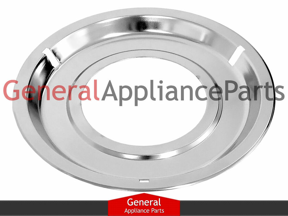 Ge General Electric Gas Stove 8 1 4 Quot Chrome Drip Pan