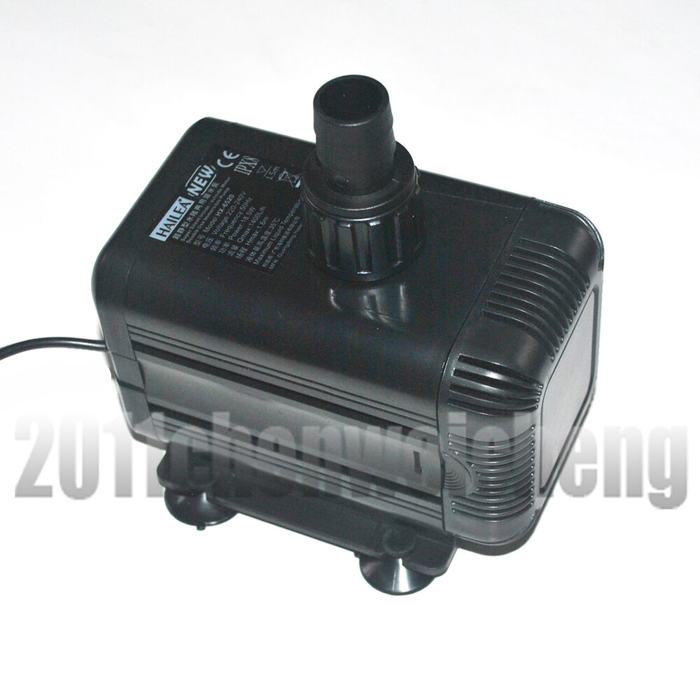 Aquarium 720ltr inline immersible external water pump for Koi fish pond water pump