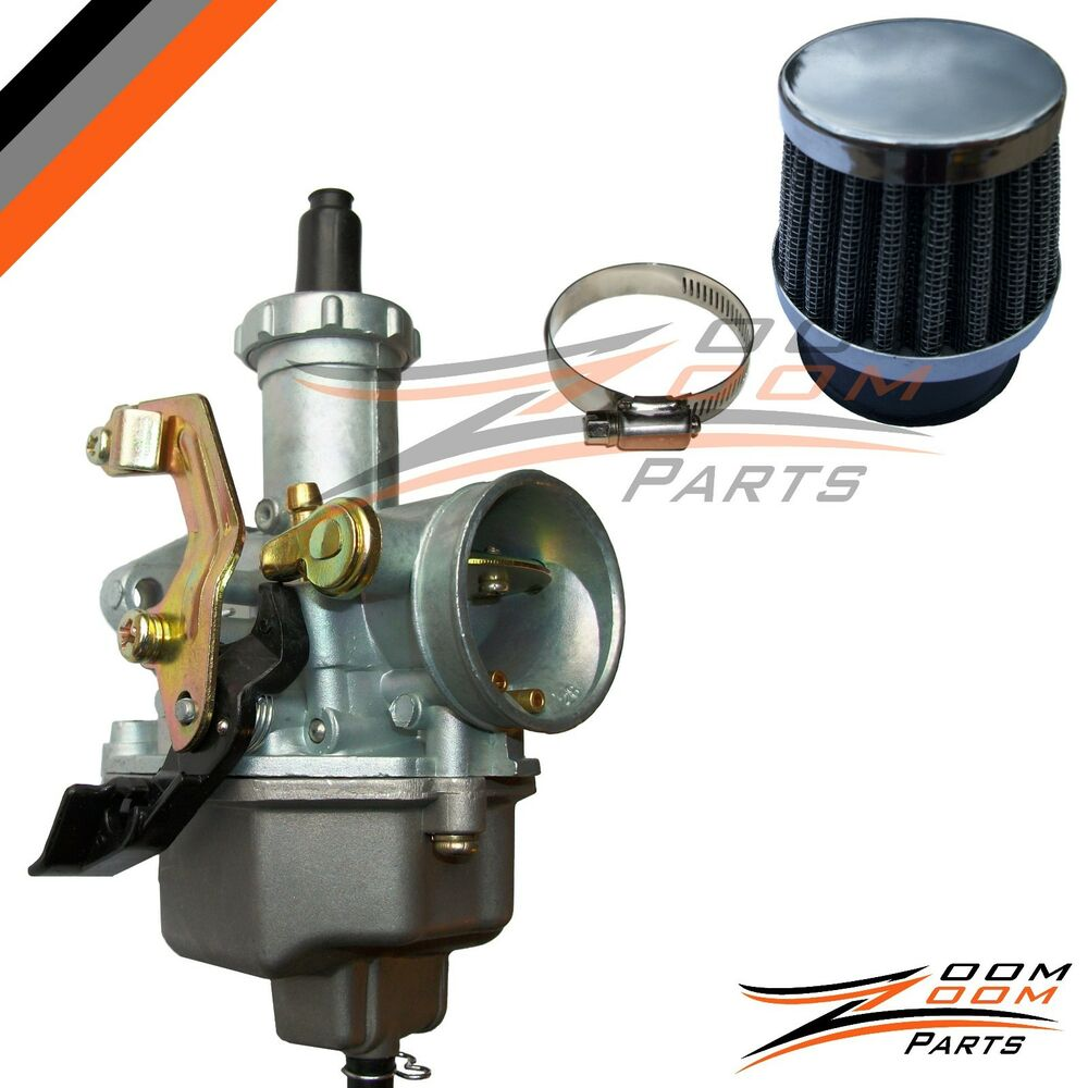 1984 Honda Atc 200es Carburetor  U0026 Air Filter Atc200es 3