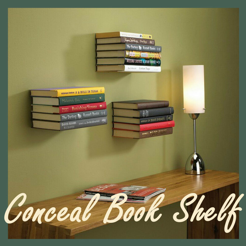 New Umbra Conceal Floating Book Shelf Invisible Wall Mount