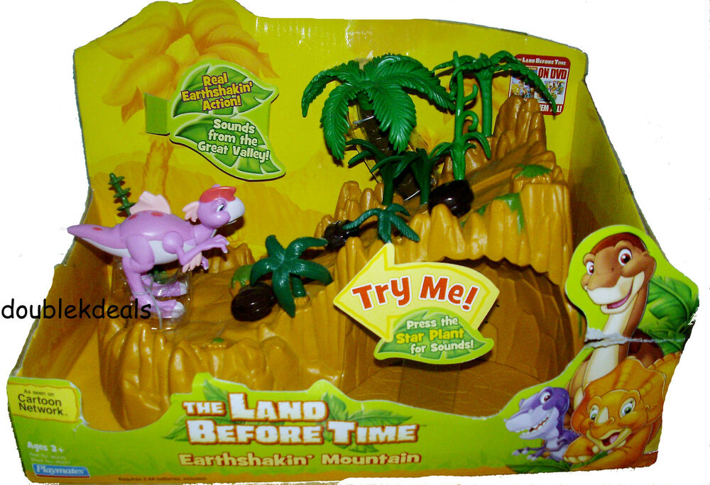 Land Before Time Toys : New the land before time earthshakin mountain electronic