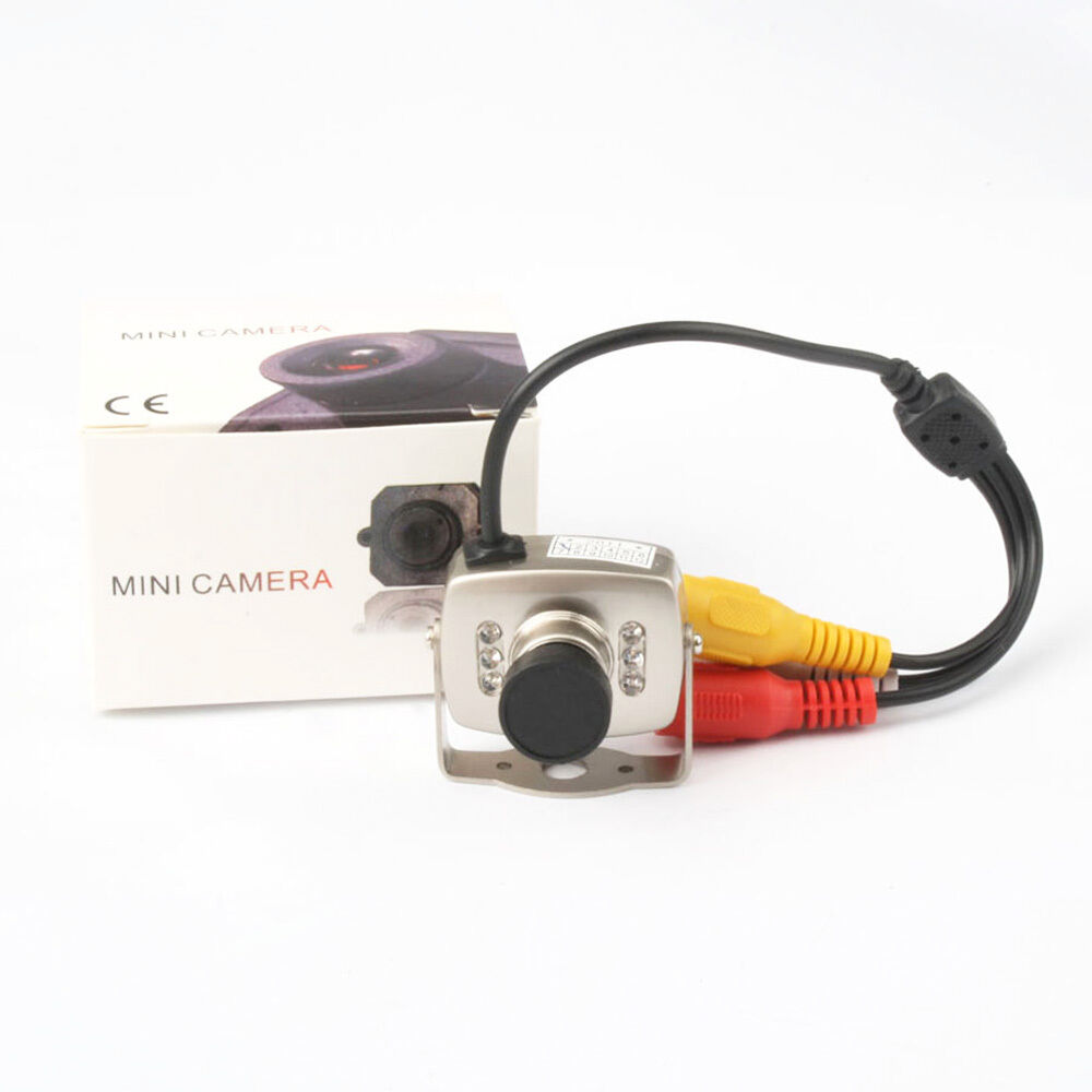 Security Spy Video Audio Mini Color CCTV Surveillance