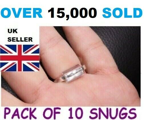 RING SNUGGIESSNUGS PACK OF 10 ADJUSTERS LOOSE RINGWRONG SIZE