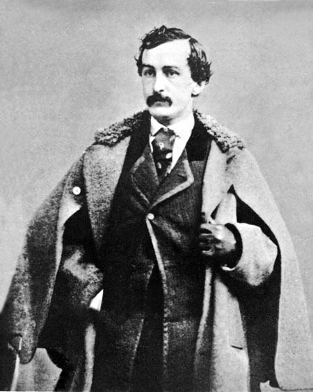 Stage Actor JOHN WILKES BOOTH Glossy 8x10 Photo ...  Abraham