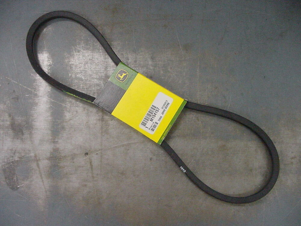 John Deere 425 Replacement Parts : John deere genuine oem mower drive belt m z trak