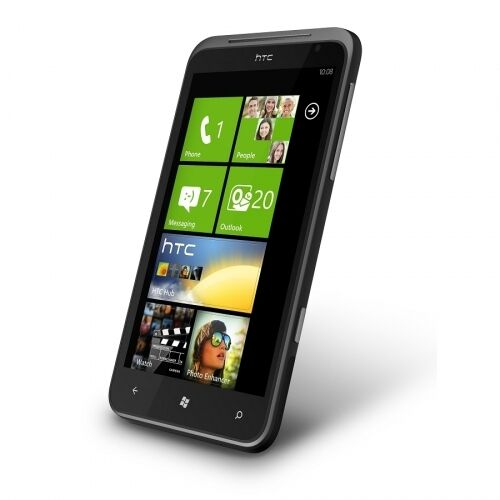 htc titan x310e black windows smartphone handy ohne. Black Bedroom Furniture Sets. Home Design Ideas