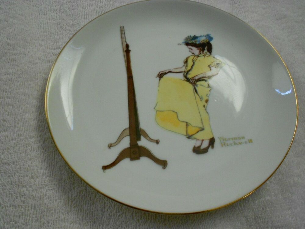 Decorative Wall Plates For Hanging: Zelda's Decorative Plate Wall Hanging Norman Rockwell