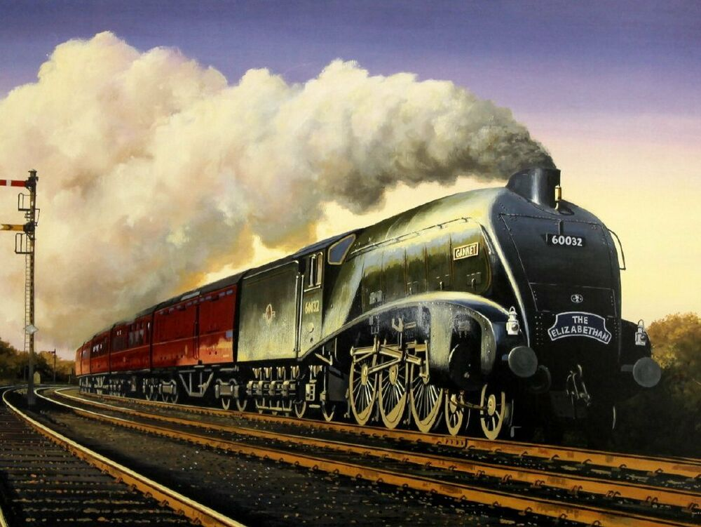 Historic Steam Locomotive Lives Again… | Living in The ...