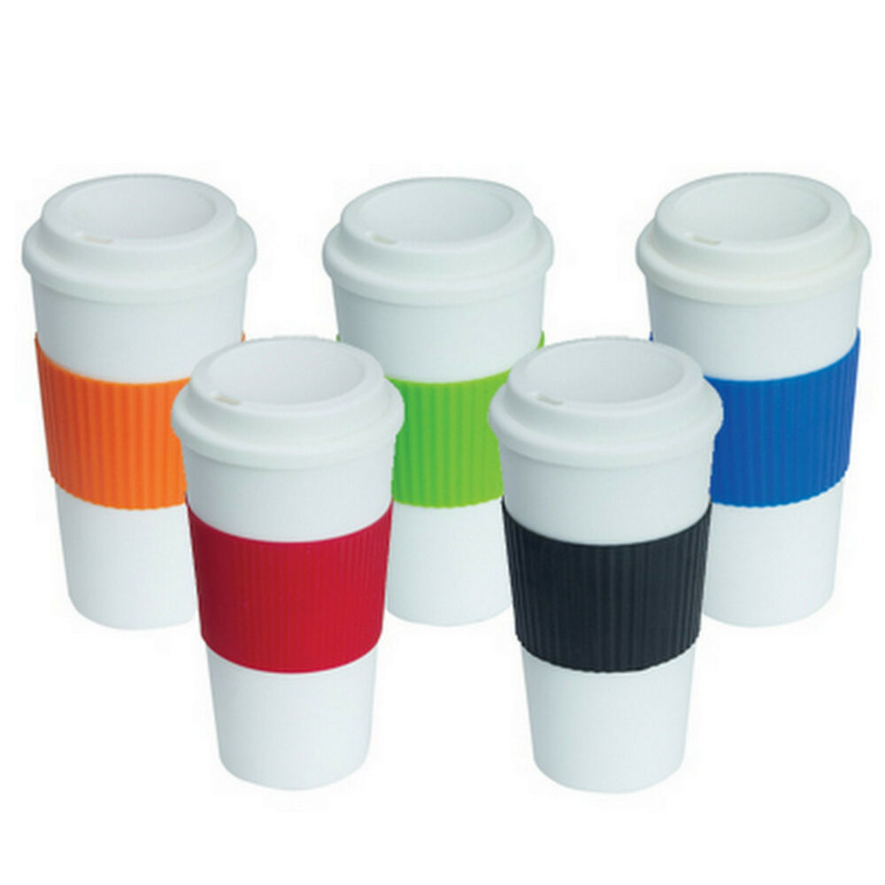 1 X New Insulated Thermal Cup Double Wall Reusable Travel