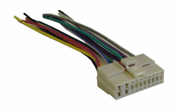 oem radio plug wire harness stereo wiring fits 1995 2003. Black Bedroom Furniture Sets. Home Design Ideas