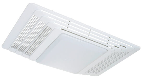 Plastic Fan Heater Light Grille Lens Broan Exhaust Bathroom Replacement White Ebay