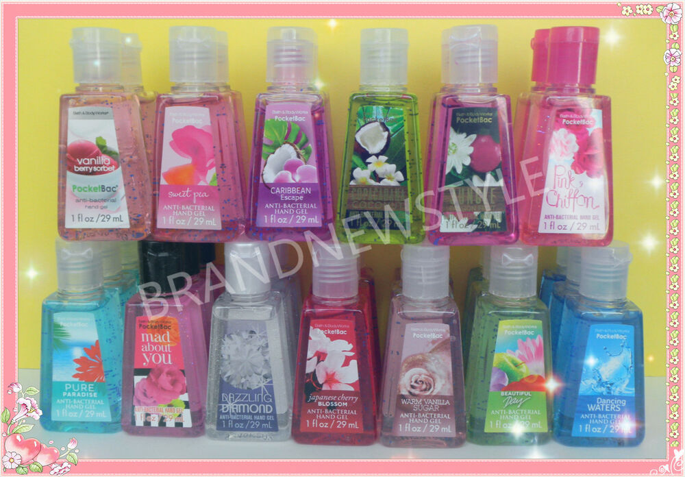 BATH AND BODY WORKS ANTI BACTERIAL POCKET HAND SANITIZER ...