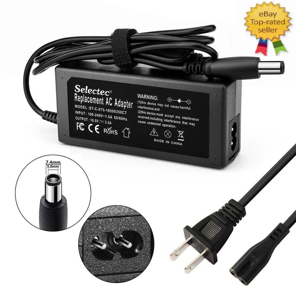 Details About 65W AC Adapter Charger Laptop FOR HP N193 LAPTOP Power Supply Cord